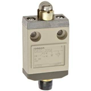 Omron D4CC 3002 Miniature Limit Switch, Roller Plunger, 1A at 30VDC Rated Current