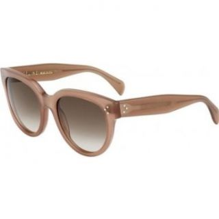 Celine 41755 GKY Opal Brown Audrey Cats Eyes Sunglasses Lens Category 2 Celine Clothing