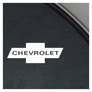 Chevrolet White Sticker Decal Car Window Wall Macbook Notebook Laptop Sticker Decal