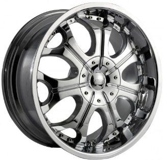 VISION WHEEL   323 torch   20 Inch Rim x 9   (5x115/5x5) Offset (15) Wheel Finish   Chrome Automotive