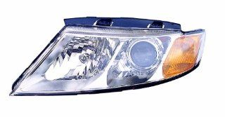 Depo 323 1129L ASD1 Kia Optima/Magentis Driver Side Composite Headlamp Assembly with Bulb and Socket Automotive