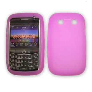 Blackbery 9700 Bold Light Purple Silicone Skin Case / Rubber Soft Sleeve Protector Cover Cell Phones & Accessories
