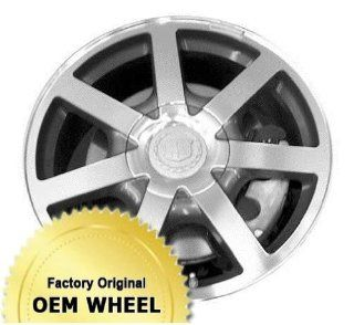 CADILLAC SRX 18X8 7 SPOKE Factory Oem Wheel Rim  CHROME   Remanufactured Automotive