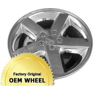 DODGE AVENGER 18X7 5 SPOKE Factory Oem Wheel Rim  MACHINED CLAD   Remanufactured Automotive