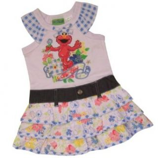 Sesame Street Elmo Toddler Girls Dress Size 4T Clothing