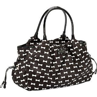 Kate Spade Bow Shoppe Stevie Baby Bag Black Cream Baby