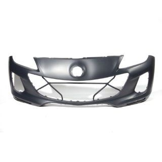 CarPartsDepot, New Primered Front Bumper Cover Replacement Plastic, 352 312243 10 PM MA1000235 BGY450031EBB Automotive