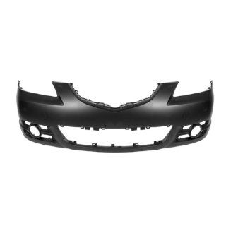 CarPartsDepot, Standard Type Front Bumper Cover 4D Primed CAPA Certified Part, 352 311590 10 CA MA1000215 BAN650031CBB Automotive