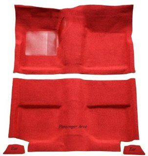 1974 to 1980 Ford Pinto Carpet Replacement Kit, Passenger Area Only (812 Royal Blue Cut Pile) Automotive