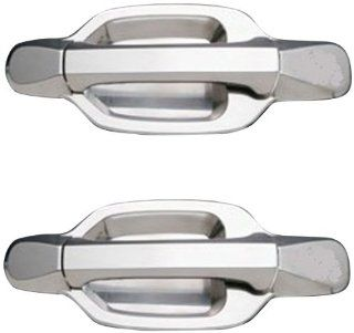 All Sales 932BC Brushed Chrome Billet Aluminum Door Handle and Bucket Kit Automotive