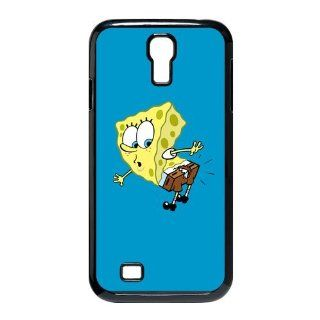 Cute Cartoon Spongebob Squarepants Case SpongeBob SquarePants Hard Case Cover for SamSung Galaxy S4 I9500 Electronics