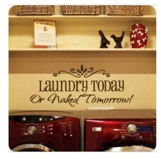 DIY Removable Laundry Room Quote Decal Art Vinyl Wall Sticker Paper Lettering   Childrens Wall Decor