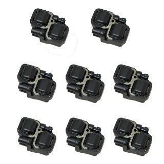High Quality 6 month warranty Set of 8 Ignition Coil on Plug Coils Pack UF 359 UF359 610 585240001587303 0001587803 A0001587303 A000158780 Automotive
