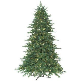 9 ft. x 63.6 in.   Redford Blue Spruce   5554 Realistic Molded Tips   900 Clear Mini Lights   Barcana Artificial Christmas Tree