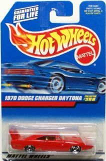 Mattel Hot Wheels 1998 164 Scale Red 1970 Dodge Charger Daytona Die Cast Car Collector #368 Toys & Games