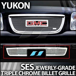 2007 2012 GMC Yukon SES Chrome Mesh Grille (Bottom) Automotive