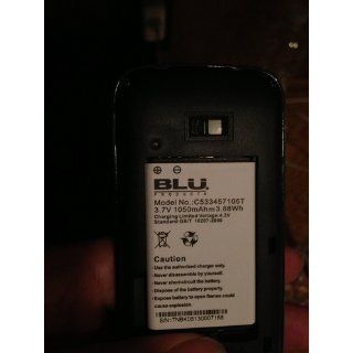 BLU Diva X T372T Unlocked GSM Phone with Dual SIM, 1.3MP Camera + LED Flash, Blu Cell Phones & Accessories