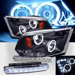 09 12 DODGE RAM 1500 2500 3500 CCFL HALO PROJECTOR HEADLIGHTS + LED BUMPER LAMPS Automotive