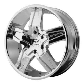 20x8.5 Lorenzo WL30 (Chrome) Wheels/Rims 5x114.3 (WL03028512238) Automotive