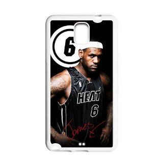 Custom Personalized LeBron James Miami Heat Hard Samsung Galaxy Note 3 N900 Cover Case Shell Protector Cell Phones & Accessories