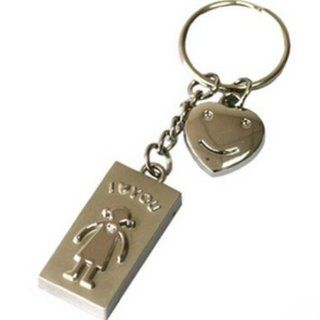 Ayangyang 4gb Cute U disk USB Flash Drive Disk with Keychain Shaped Crystal U Disk Memory Size of 4 G Packet of 2 Computers & Accessories