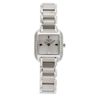 Tissot Women's T02.1.385.71 T Wave Stainless Steel Case Mother Of Pearl Dial Watch Tissot Watches