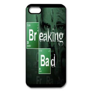 Custom Breaking Bad Personalized Cover Case for iPhone 5 5S LS 406 Cell Phones & Accessories