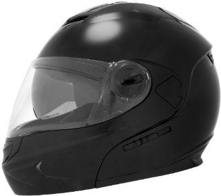 Cyber Helmets U 217 Solid Helmet , Distinct Name Matte Black, Primary Color Black, Helmet Category Street, Size Md, Gender Mens/Unisex, Helmet Type Modular Helmets 640912 Automotive