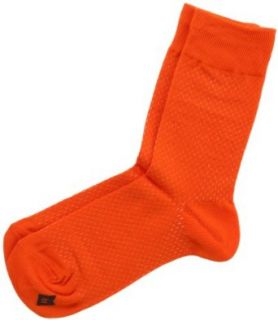 Orange Solid Mens Dress Sock   Richer Poorer Clothing