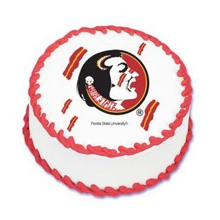 NCAA Florida State University Edible Image Cake Topper  Decorative Cake Toppers