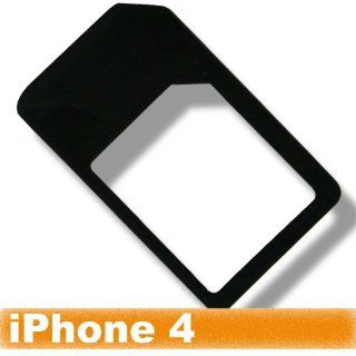 [Aftermarket Product] Black Micro Sim Card Adapter For Apple iPhone 4 iPad 4G Cell Phones & Accessories