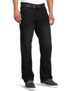 ENYCE Men's Scout Jean, Black Wash, 32x30 Clothing