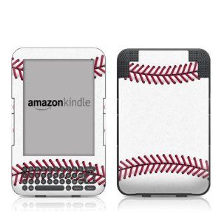 Baseball Design Protective Decal Skin Sticker for  Kindle Keyboard / Keyboard 3G (3rd Gen) E Book Reader   High Gloss Coating Kindle Store