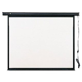 Quartet 770S   Electric Wall or Ceiling Mount Projection Screen, 70 x 70, Three Position Switch QRT770S Computers & Accessories