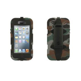 Griffin Survivor Hunter Camo Heavy Duty Survivor Case for iPhone 5/5S   Retail Packaging   Camo Hunter Black Cell Phones & Accessories