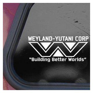 WEYLAND YUTANI White Sticker Decal ALIENS LV 426 HIVE Wall White Sticker Decal