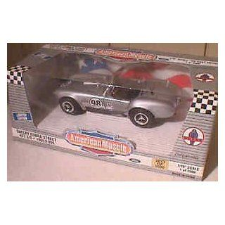 Ertl 7737 #98 Shelby Cobra Street 427 S/C 1965/1995 118 Scale Diecast in Silver Toys & Games