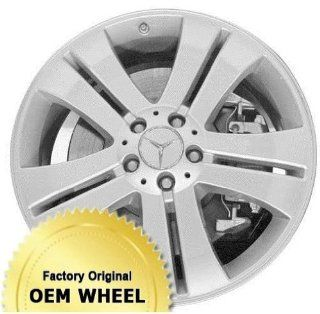 MERCEDES GL450,GL CLASS 19X8.5 5 DOUBLE SPOKES Factory Oem Wheel Rim  SILVER   Remanufactured Automotive