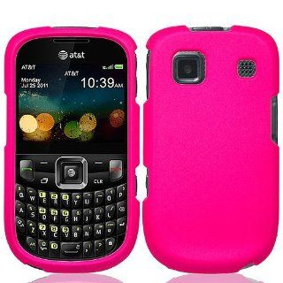 Hot Pink Hard Cover Case for ZTE Z431 AT&T Cell Phones & Accessories