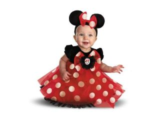 Girls Disney Minnie Mouse Infant Kids Halloween Costume