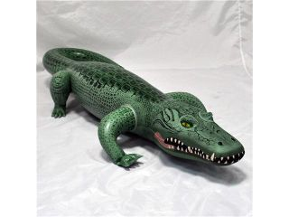 Realistic Alligator Animal Reptile Scales Inflatable Toy Florida Pool Fun Kids                                                                                                                                                                     Science & Nat
