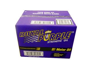 Royal Purple 01011 XPR Race Racing Synthetic Motor Oil 5W20 Case of 12 Quarts