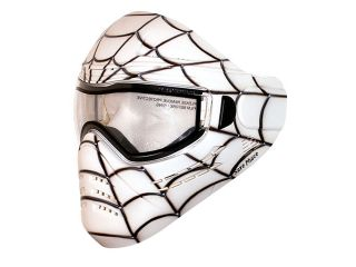 Save Phace Tagged Series Paintball Mask Spiderman   Spidey White