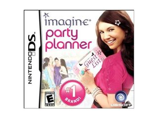 Imagine: Party Planner Nintendo DS Game Ubisoft