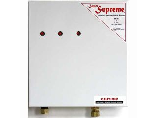 Super Supreme Tankless Water Heater USA Made 15kW 240V Model S 220