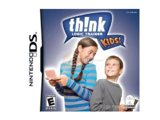Think Logic Trainer for Kids Nintendo DS Game Conspiracy Entertainment