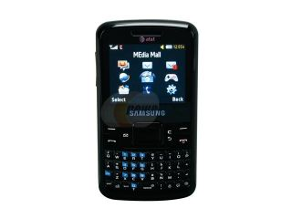Samsung a177 Black Unlocked GSM Bar Phone with Full QWERTY Keyboard / Bluetooth with Stereo (SGH A177)
