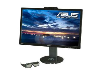 "ASUS VG278H Black 27"" 2 ms (Gray to gray) HDMI Widescreen LED Backlight LCD Monitor 300 cd/m2 ASCR 50,000,000:1 Built in Speakers"