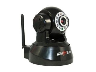 Wansview Wireless IP Pan/Tilt/ Night Vision/ Internet Surveillance Camera Built in Microphone With Phone remote monitoring support