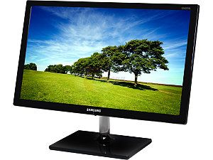 "SAMSUNG S24C570HL Glossy Black 23.6"" 5ms (GTG) HDMI Widescreen LED Backlight LCD Monitor 250 cd/m2 Mega Infinite DCR (1000:1)"